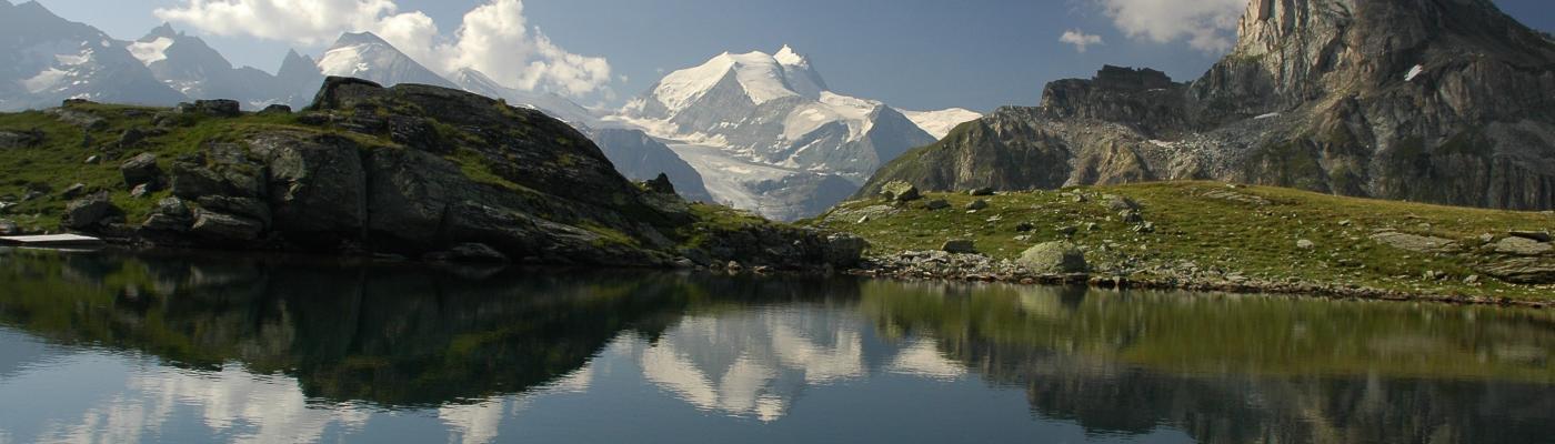 Instants de sérénité au pied des 4000 du Valais...