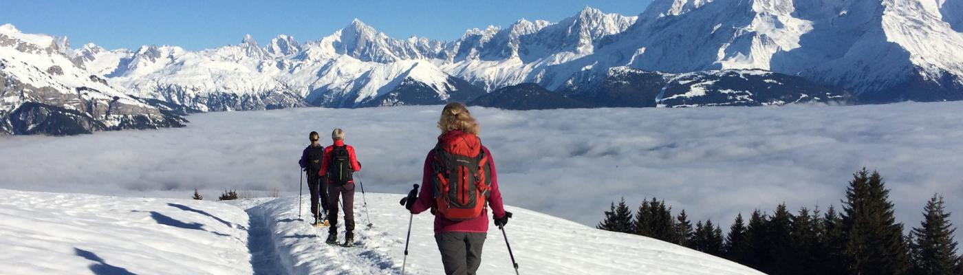 Mer de nuages sur le Val d'Arly...
