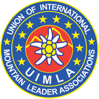 Membre de l'UIMLA (Union of International Mountain Leader Associations)